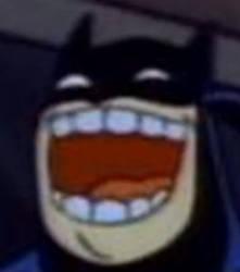 LOL BATMAN.. by shinx2eevee
