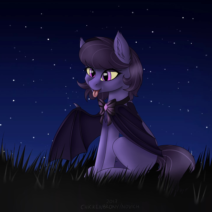 Night Ariadne [YCH] by ChickenBrony