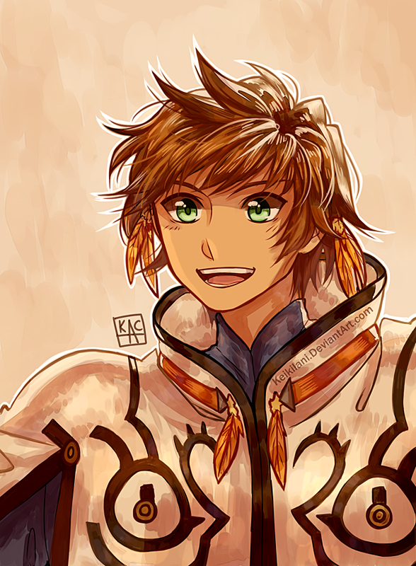 Drawing a Day Challenge - Day 018: Sorey by Noctuart