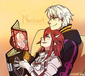 Reading Time by Noctuart
