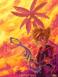 Kingdom Hearts (Collab) by Noctuart