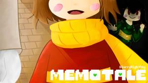 MemoTale Comic Cover/ Tumblr Header