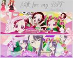 Pack Gift Covers for my two BFF [ Nana + Hana ]