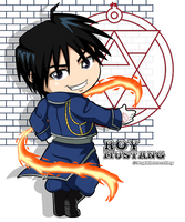 FMA - Chibi Roy Mustang by DaphInteresting