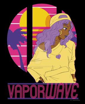 Design - Vaporwave Girl
