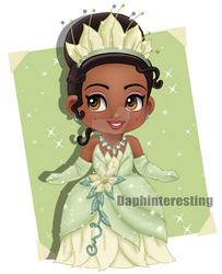 Disney - Chibi Princess Tiana