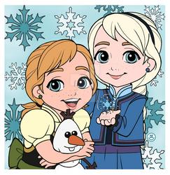 Disney - Child Elsa and Anna
