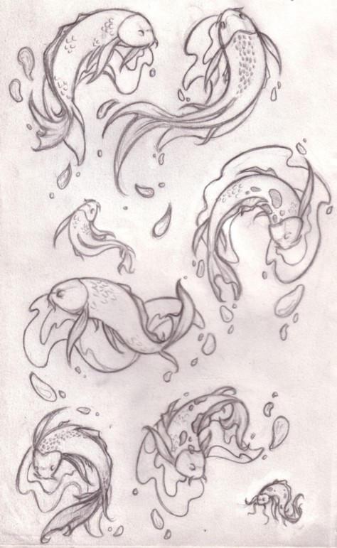 Fish pond design drawing - photo#22