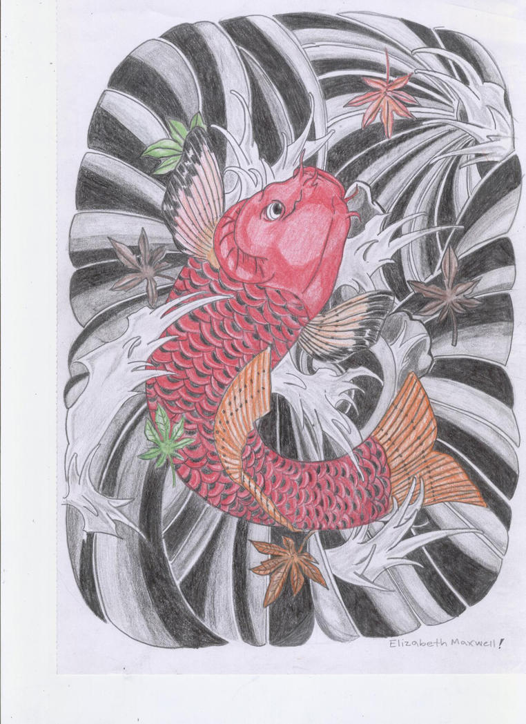 Koi fish by japanese koi fish on deviantart for Koi fish japanese art