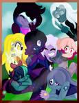 .:Contest:. Gem Squad by ArtistinaBlock