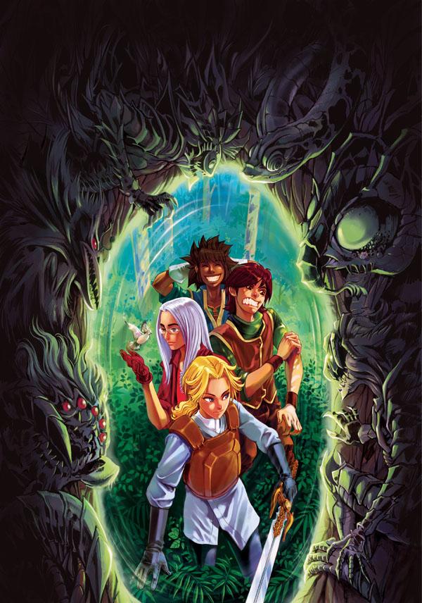 Comic poster 2 by deluzzion