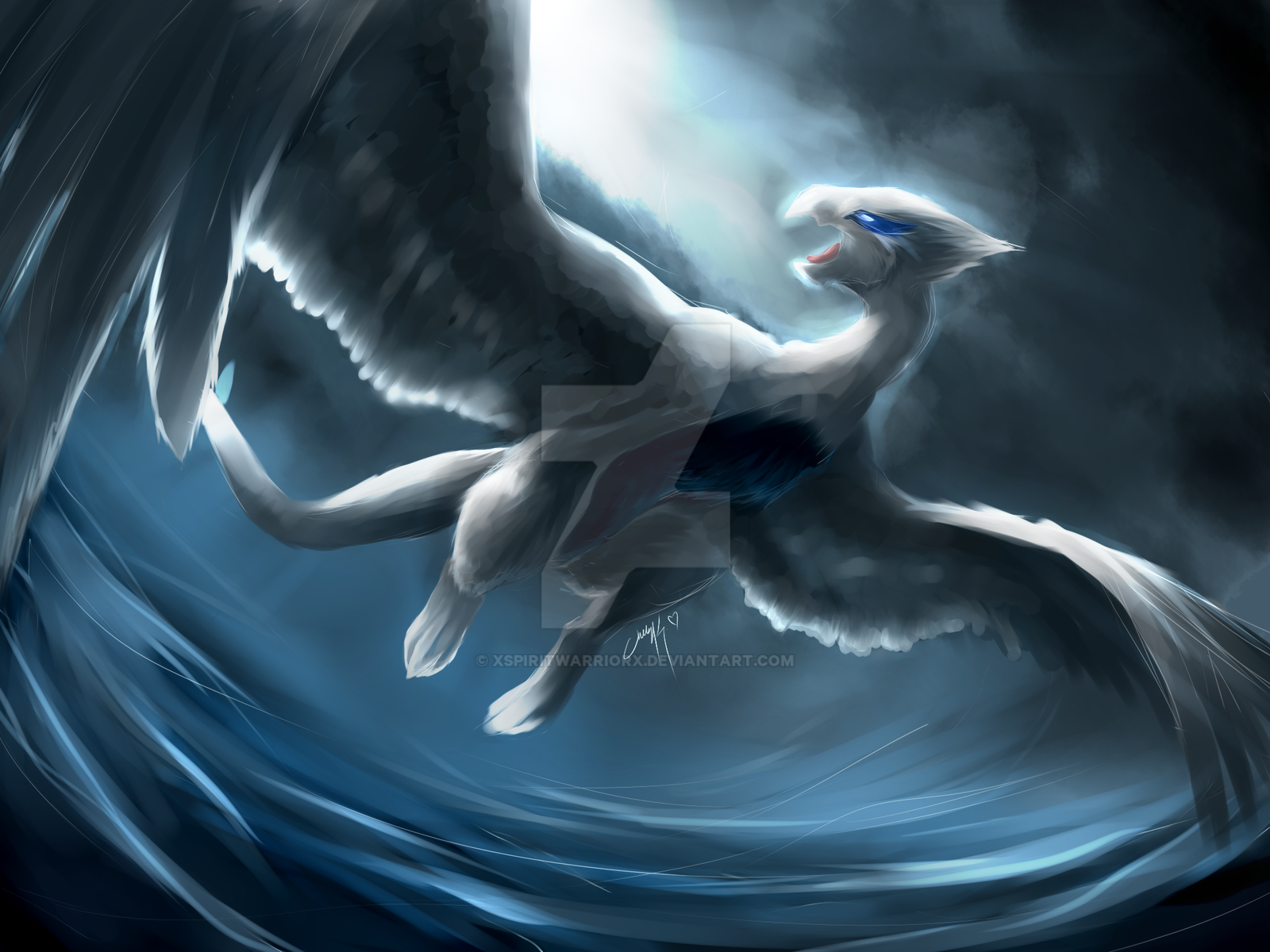Guardian of the Seas by XSpiritWarriorX
