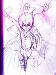 Eins, Zwei, Drei!~ [sketchWIP] by XSpiritWarriorX