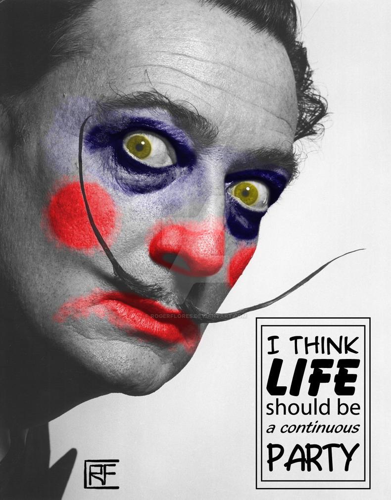Od suze do osmeha... - Page 7 Dali_clown_by_rogerflores-d57efcq