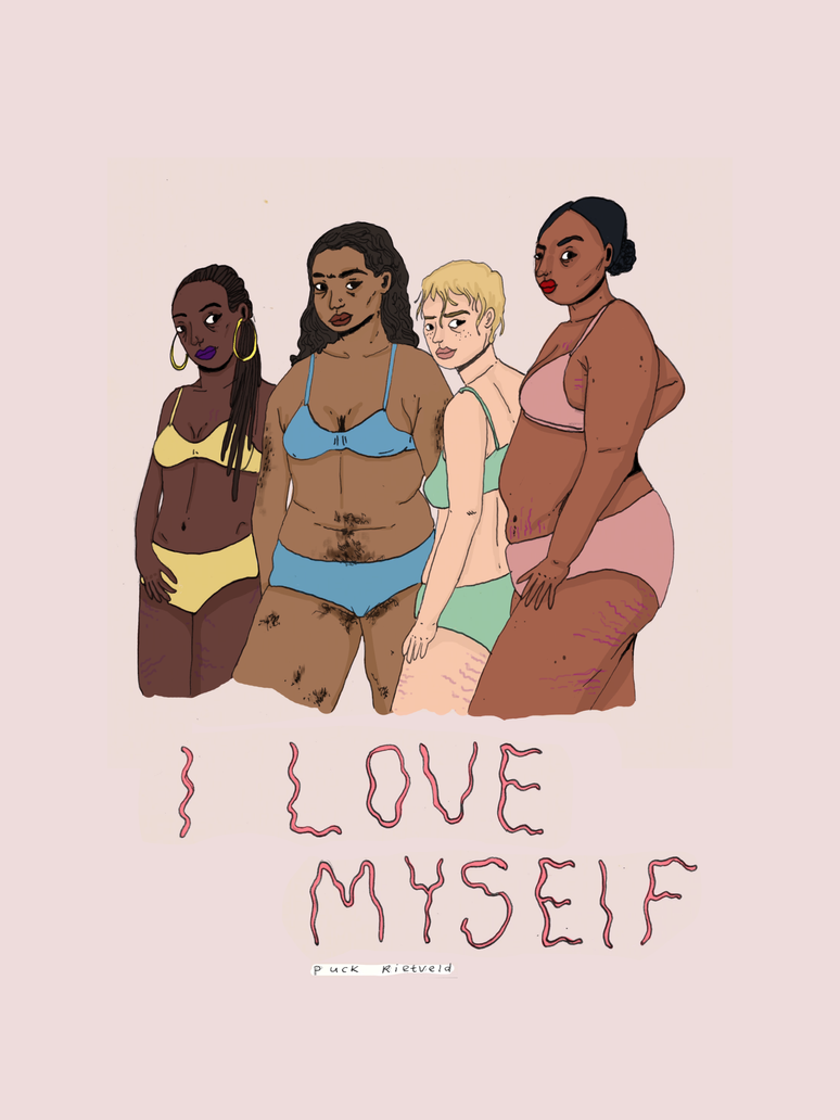 I Love Myself by puckrietveld