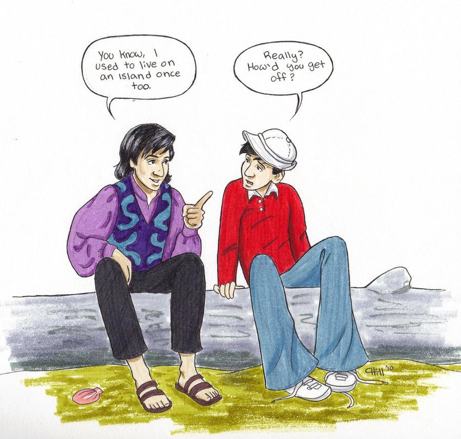 Balki Meets Gilligan By Chill13 On Deviantart