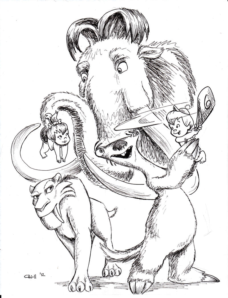 Famous Ice Age Diego Coloring Pages Photos - Example Resume Ideas ...