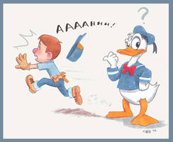 Felix Meets Donald by chill13