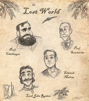 Lost World characters