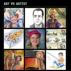 Art vs Artist chill13 by chill13