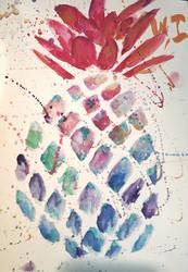 Tipsy pineapple