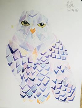 Sadly I smudged my owl