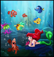 under the sea.. by devashri