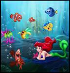 under the sea..