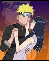 Naruto and Hinata by devashri