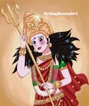 Durga Devi by devashri