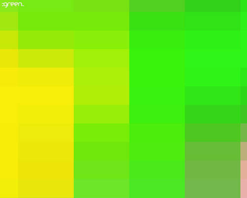 this is green