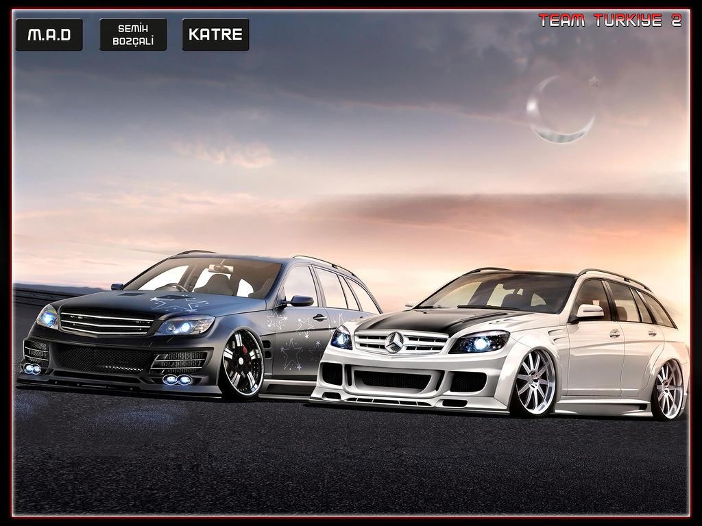 Mercedes-Benz C63 AMG Estate by katre-design