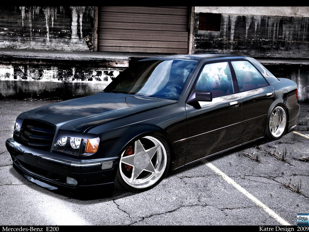 mercedes benz e200 by katre design on deviantart. Black Bedroom Furniture Sets. Home Design Ideas