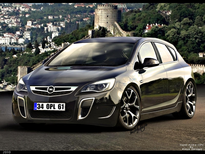 opel astra opc by katre design on deviantart. Black Bedroom Furniture Sets. Home Design Ideas