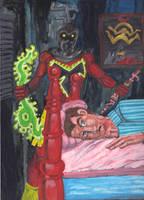 Night Visitor by Ustranga