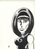 Beatnik Girl by Ustranga