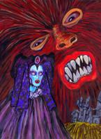 The Werewolf vs the Vampire Woman by Ustranga