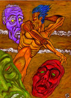 The Restless Dead by Ustranga