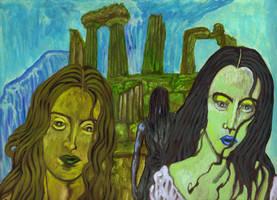 In the Wake of Poseidon by Ustranga