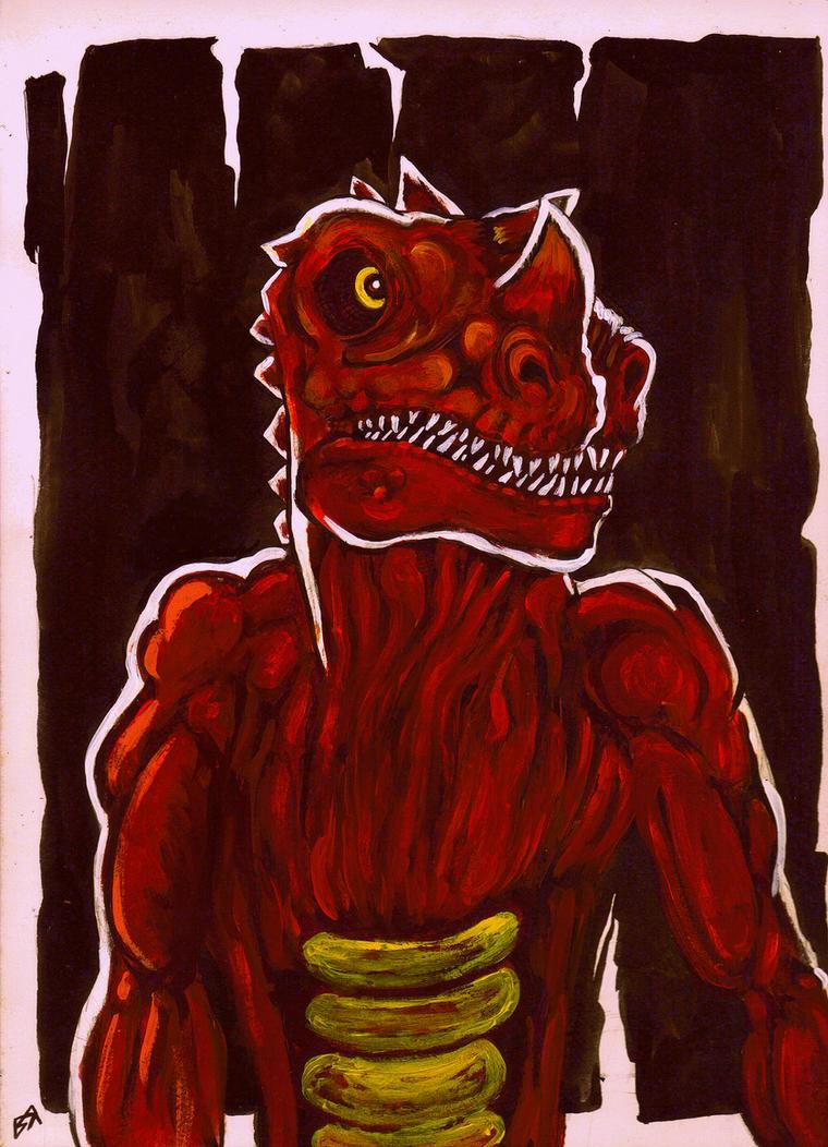 The Lizard King by Ustranga