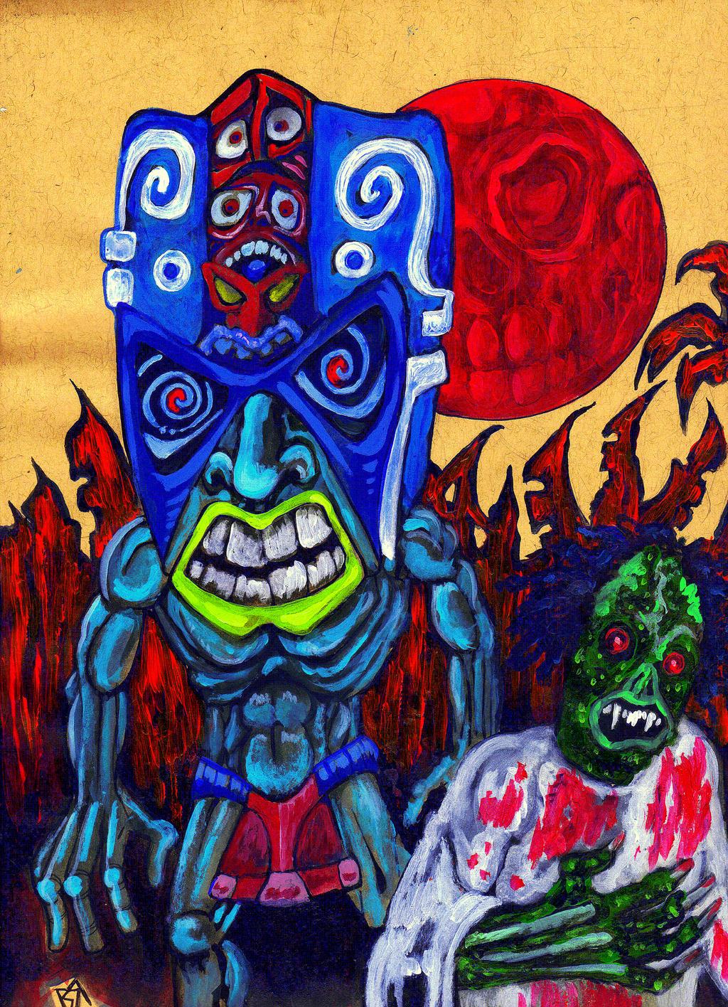 The Horrors of Blood Island by Ustranga