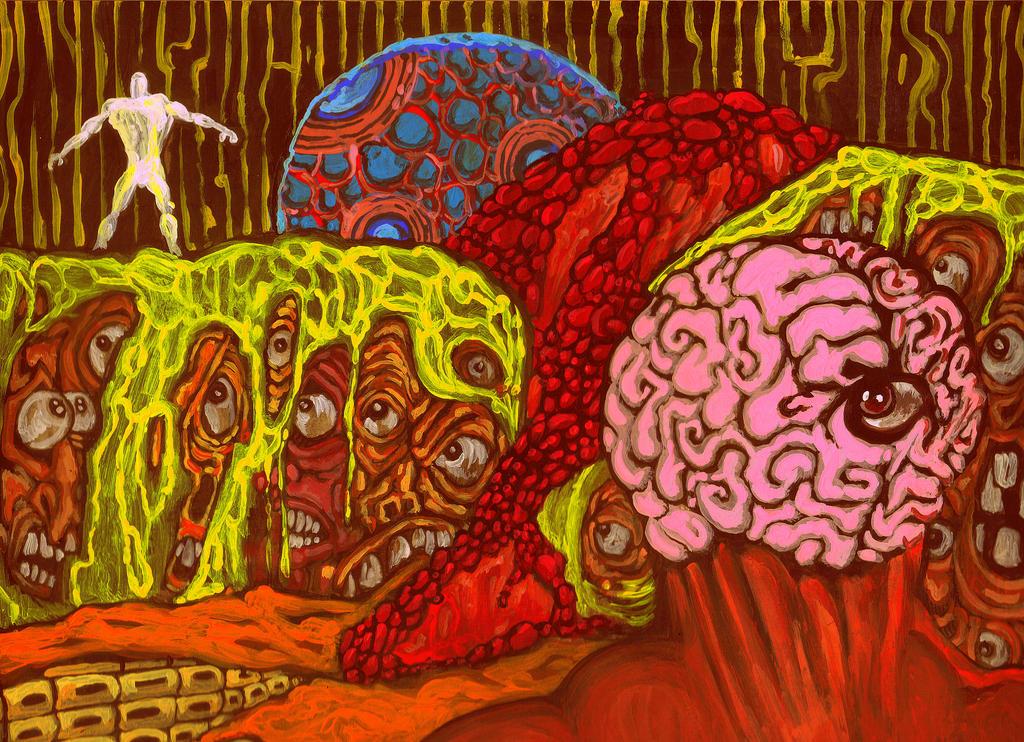 Birth and Ascension by Ustranga