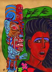 The Storm God of Blood Island by Ustranga