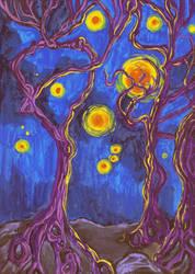 Night of the spook lights by Ustranga