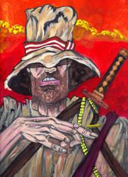 The Blind Swordsman by Ustranga