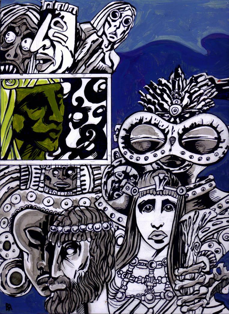 I Summon The Gods 1 by Ustranga