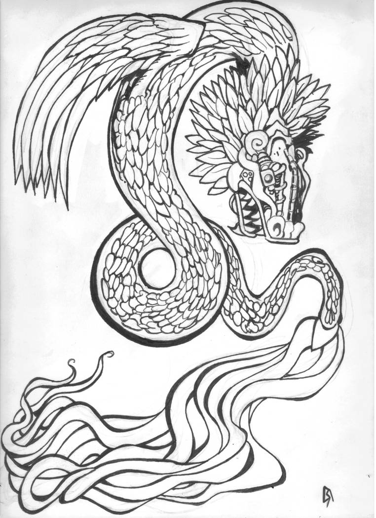 The Feathered Serpent by Ustranga