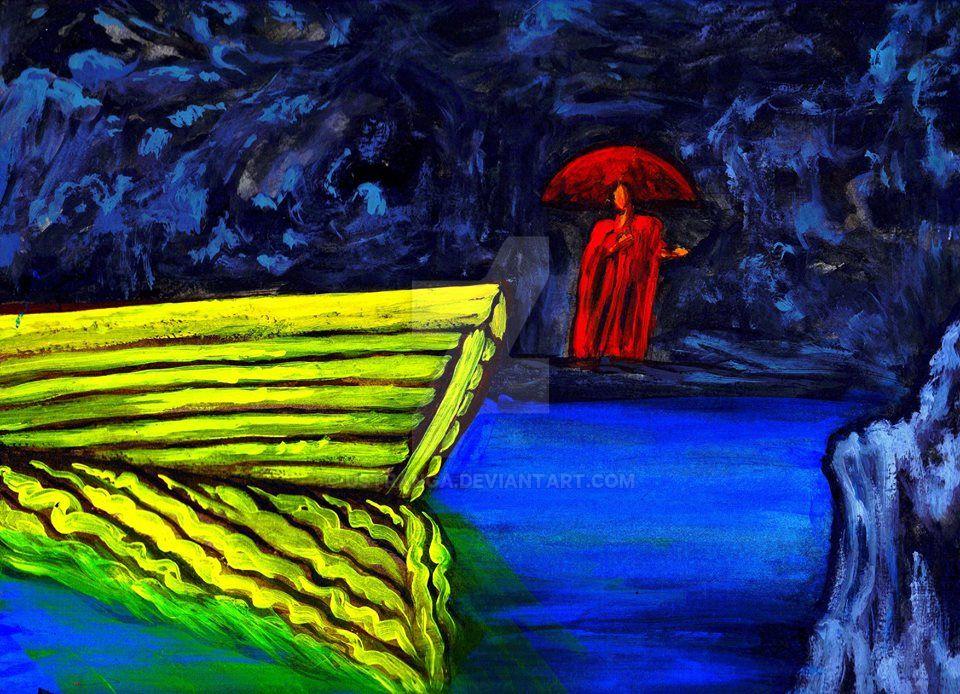 The Yellow Boat by Ustranga
