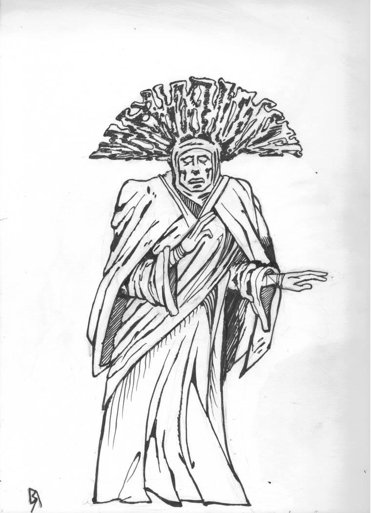 The Mystic by Ustranga