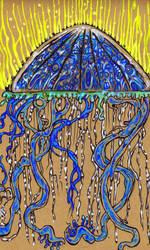 Kiijoro Jellyfisher of men by Ustranga